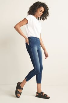 White Cap Sleeve T-Shirt
