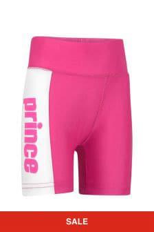 Prince Kids Pink Vintage Shorts