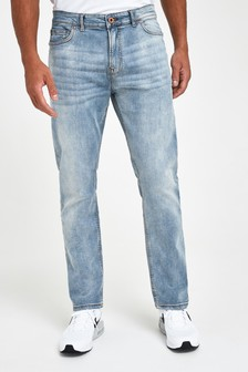 Light Blue Jeans With Stretch