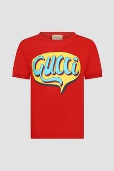 GUCCI Kids Red T-Shirt