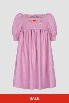 Fendi Kids Pink Dress