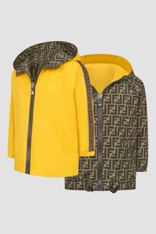 Fendi Kids Unisex Yellow Jacket