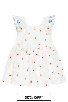 Stella McCartney Kids Baby White Dress