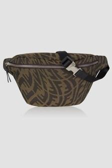 Fendi Kids Unisex Brown Bag