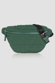 Fendi Kids Unisex Green Bag