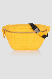 Fendi Kids Unisex Yellow Bag