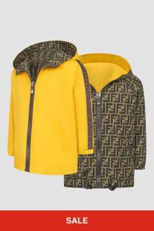 Fendi Kids Yellow Jacket