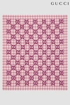 GUCCI Kids Pink Blanket