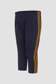 GUCCI Kids Baby Blue Joggers