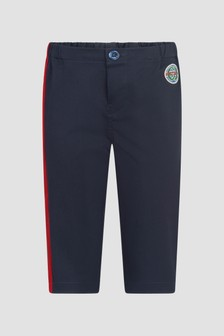 GUCCI Kids Baby Boys Navy Trousers