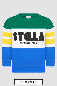 Stella McCartney Kids Boys Multi Sweat Top
