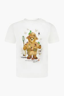 Ralph Lauren Kids White T-Shirt