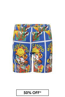 Moschino Kids Boys Summertime Shorts