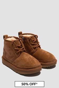 UGG Boys Brown Neumel Boots