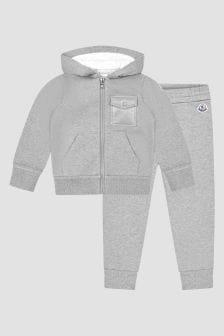 Moncler Enfant Boys Grey Tracksuit