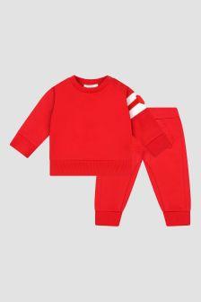 Moncler Enfant Baby Boys Red Tracksuit