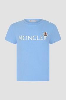 Moncler Enfant Baby Boys Blue T-Shirt