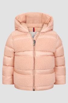Moncler Enfant Baby Girls Pink Gentiane Jacket