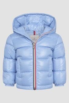 Moncler Enfant Baby Boys Blue New Aubert Jacket