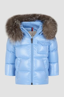 Moncler Enfant Baby Blue K2 Jacket