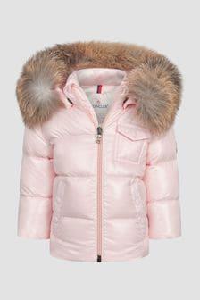 Moncler Enfant Baby Pink K2 Jacket