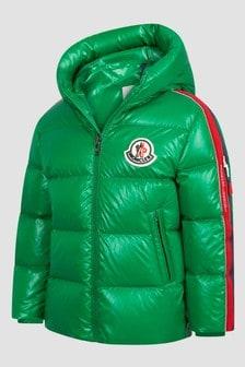 Moncler Enfant Boys Green Dincer Jacket