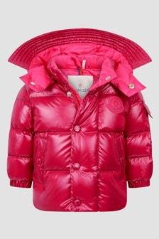 Moncler Enfant Baby Girls Cerise Luce Jacket