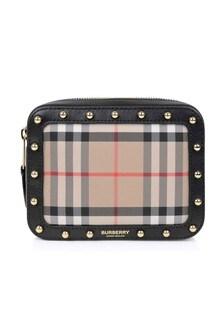 Burberry Kids Unisex Beige Leather Belt Bag