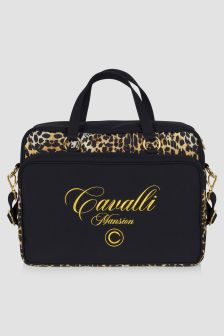 Roberto Cavalli Baby Leopard Print Changing Bag