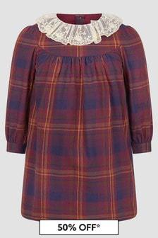 Bonpoint Girls Purple Dress