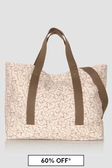 Bonpoint Baby Unisex Beige Changing Bag