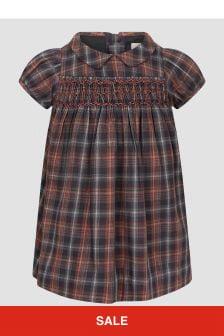 Bonpoint Baby Girls Check Dress