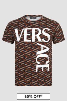Versace Kids Black T Shirt