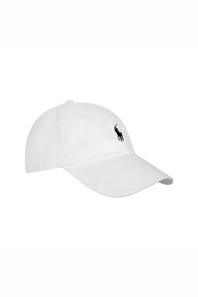 Ralph Lauren Kids Boys White Classic Cap