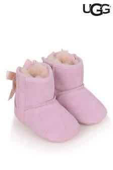 UGG Baby Girls Metallic Jesse Bow Pre Walker Boots