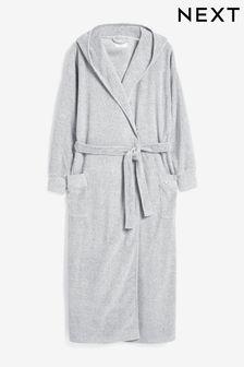 Grey Towelling Robe