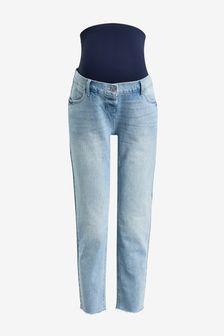 Bleach Maternity Straight Jeans