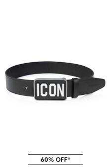 Dsquared2 Kids Boys Leather Icon Belt