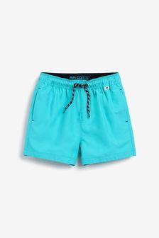 Turquoise Swim Shorts (1.5-16yrs)