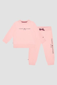 Tommy Hilfiger Baby Girls Pink Tracksuit