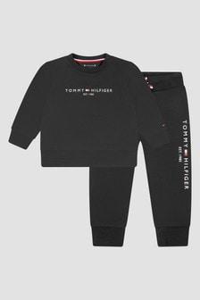 Tommy Hilfiger Baby Boys Black Tracksuit