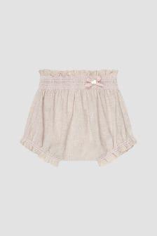 Paz Rodriguez Baby Girls Beige Shorts