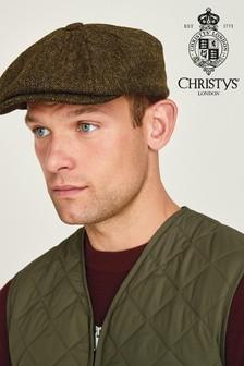 Green Christys' London Baker Boy Hat