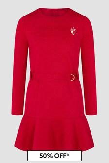 Chloe Kids Girls Red Dress