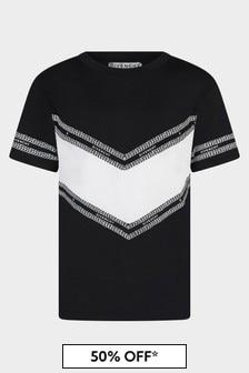 Givenchy Kids Boys Black T-Shirt