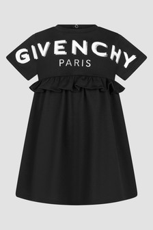 Givenchy Kids Baby Girls Black Dress