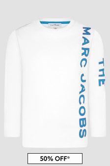 Marc Jacobs Boys White T-Shirt