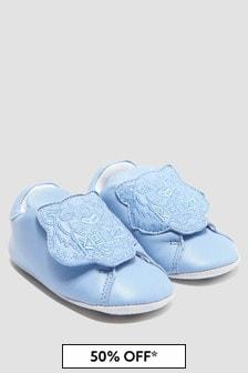 Kenzo Kids Baby Boys Blue Shoes