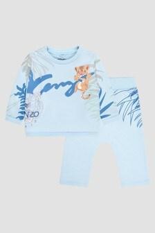 Kenzo Kids Baby Boys Blue Tracksuit