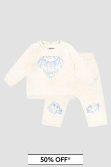 Kenzo Kids Baby Boys Ivory Tracksuit
